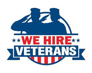 We Hire Veterans